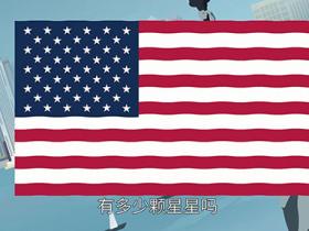 美国国旗有多少颗星星和横条